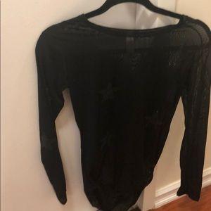 Women's Sheer Star Bodysuit